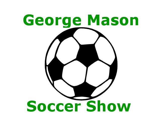 George Mason Soccer Show Logo